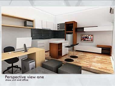 Show unite combine with mini office