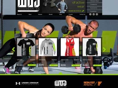 WODwear Website Design