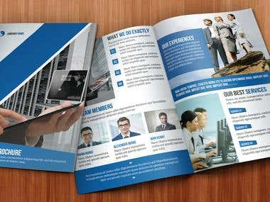 Corporate identity Work (Brochure,Catalog,Banner,BIz card)