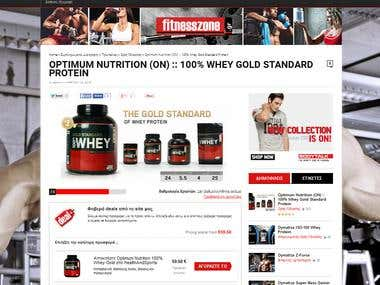 Price comparison fitness & supplements