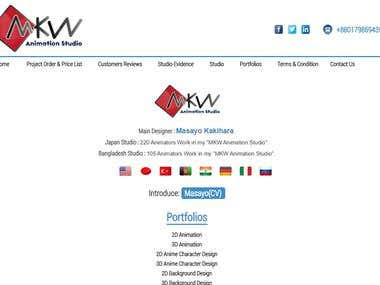 Multi-lingual website on wordpress with logo