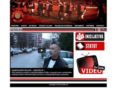 NGG Za Celik - Website