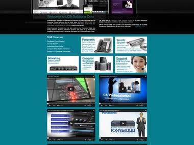 LCB Solutions Website( Development & Design )