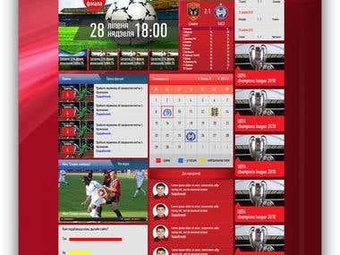 Official site of football team FC Slavia