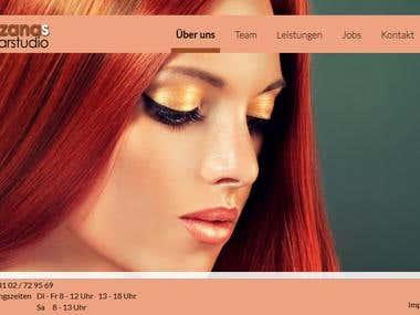 Suzana\'s haarstudio - Responsive HTML template