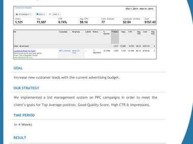 Optimizing PPC Campiagn