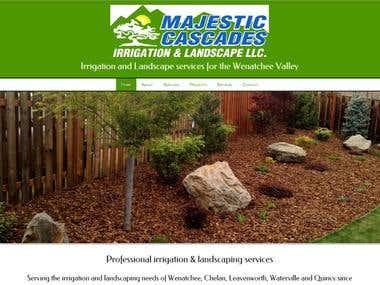 Majestic Cascades website