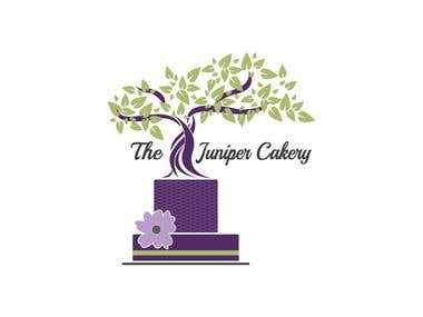 Juniper Cakery Logo Design