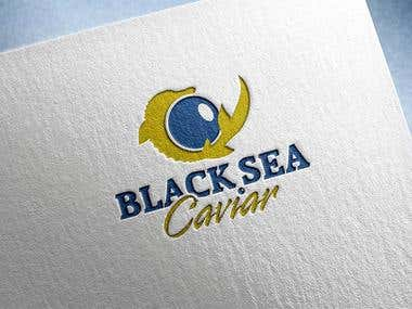 "Logo \""BlackSea Caviar\"""