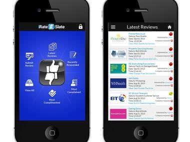 iRateiSlate.com Android/iOS app