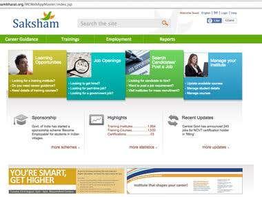 Saksham Bharat site