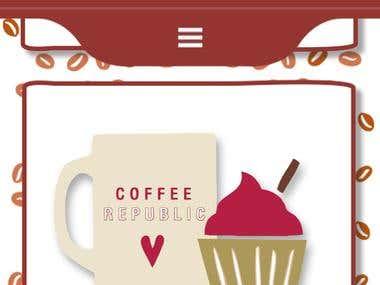 Coffee Republic Website