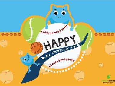 Happy Sports day