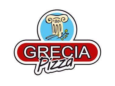 Pizza Grecia Logo
