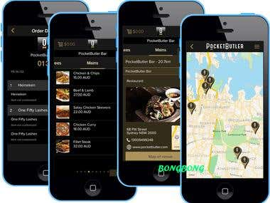Ecommerce App(Pocket Butler)