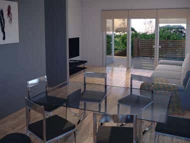 3D Interior - Architectural Visualization