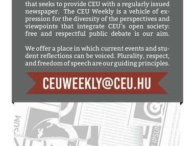 CEU Weekly Banner