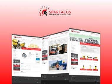 Spartacus e-commerce