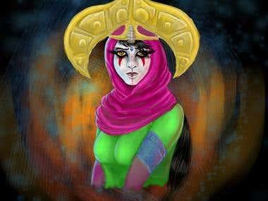 Aafaq of the Djinn Clan