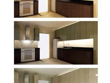 Kitchen Color Variation