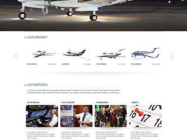 FlightClub web design