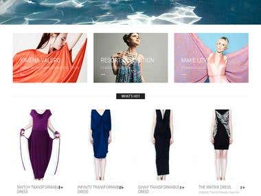 magento store for fashion designer