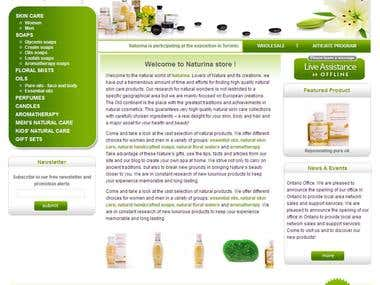 store selling natural products