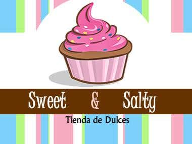 Logo sweet and salty