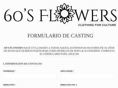 60\'s Flower\'s