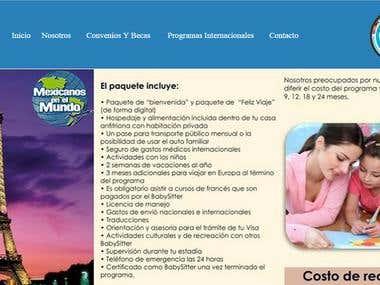 Website Mexicanos en el Mundo