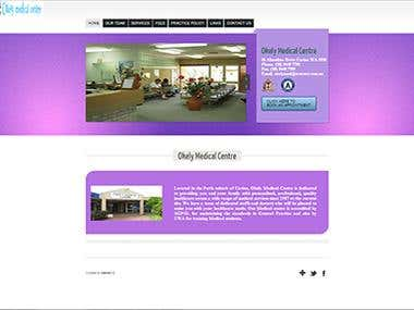 Corporate Website for Okely Medical Centre