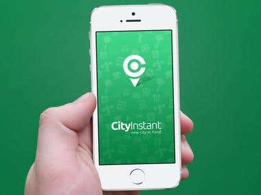 Mobile app CityInstant