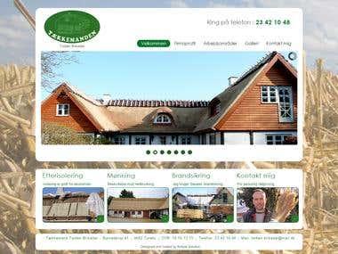 Joomla informational website