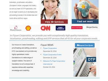 iTquan Corporation 2014 (For Translation Services)
