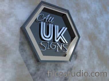 Premium Logo in 3D