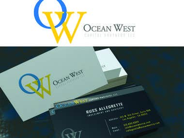 Business card design in 3D