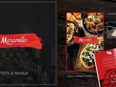 Restaurant Brand - Menu
