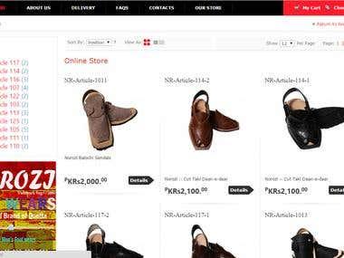 Online Men\'s Footwear Store