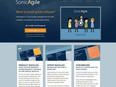 Sonic Agile - Powerful SCRUM tool.