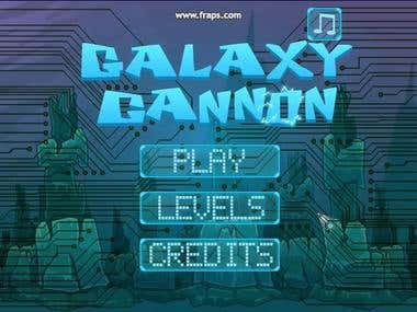"""My game \""""Galaxy Cannon\"""""""