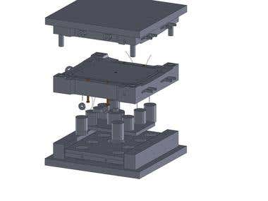 Mold Design - Product Design - CAM CNC