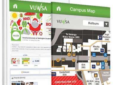 myVUWSA College App