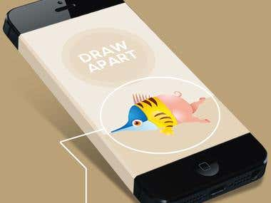 Draw Apart Game