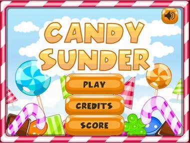"game ""Candy Sunder\"""