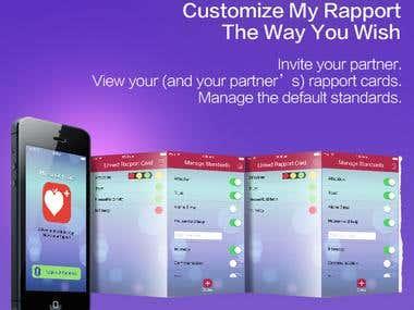 RapportCard iOS app