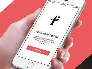 FreeBird iOS app