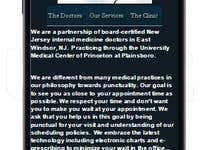 Doctor Mobile Website