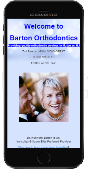 Orthodontics for both mobile and traditional websites