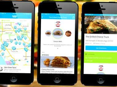 Food Deliver App for iPhone