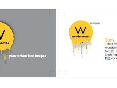 Wondernectar Business Card